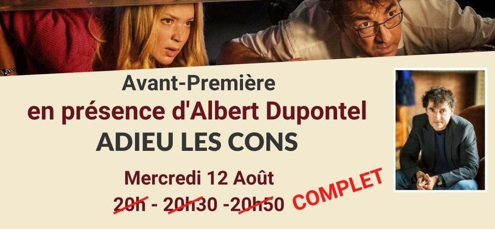 Avant-première en présence d'Albert Dupontel