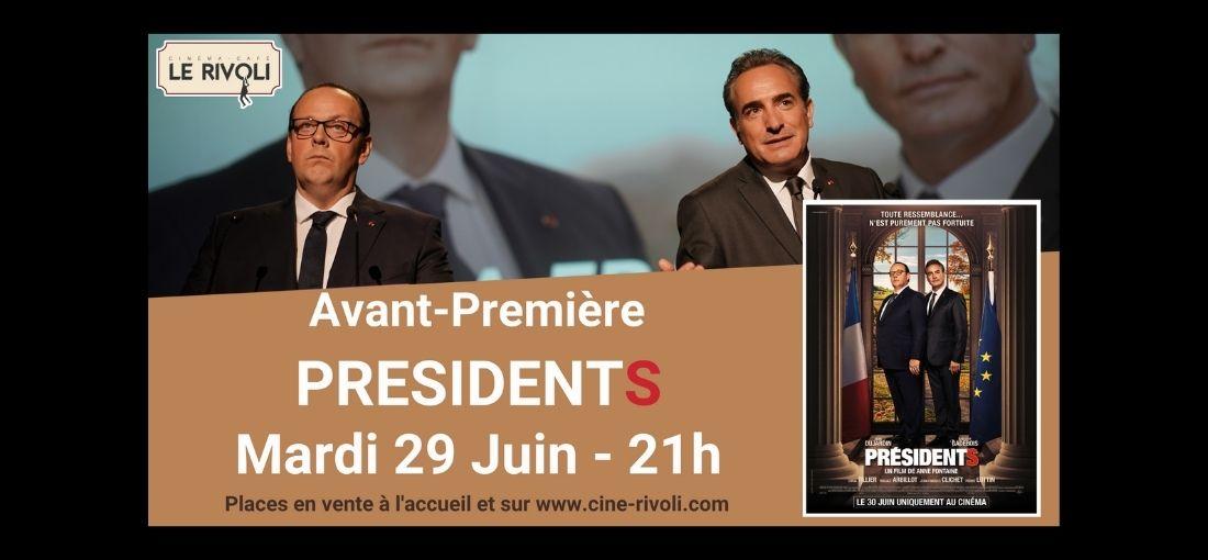 Avanrt-Première Présidents